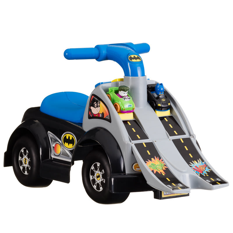 Fisher Price Little People Wheelies Batman Raceway Ride On
