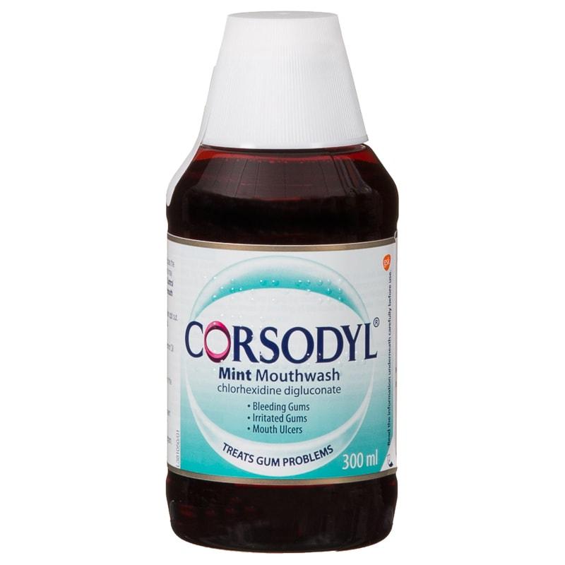 Corsodyl Mint Mouthwash 300ml - Mint