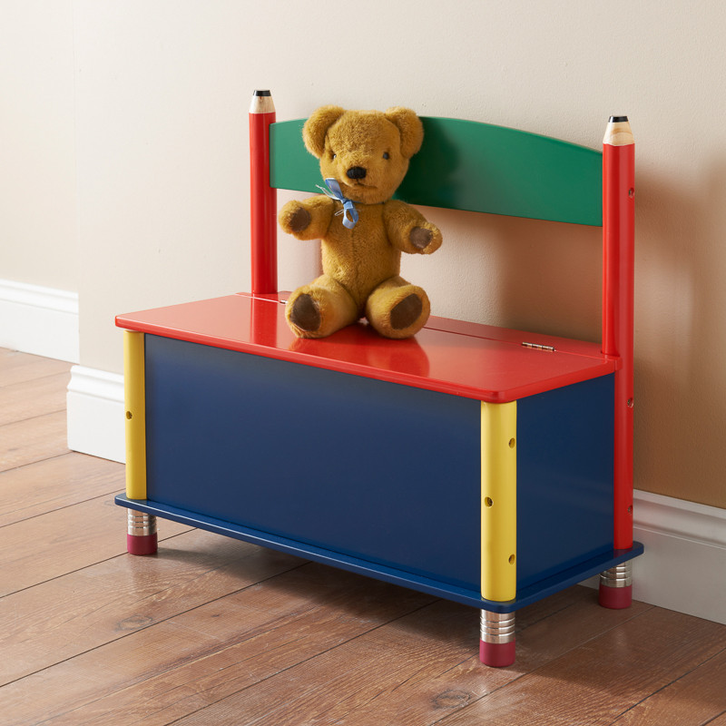B M Pencil Storage Bench Children 39 S Furniture Storage