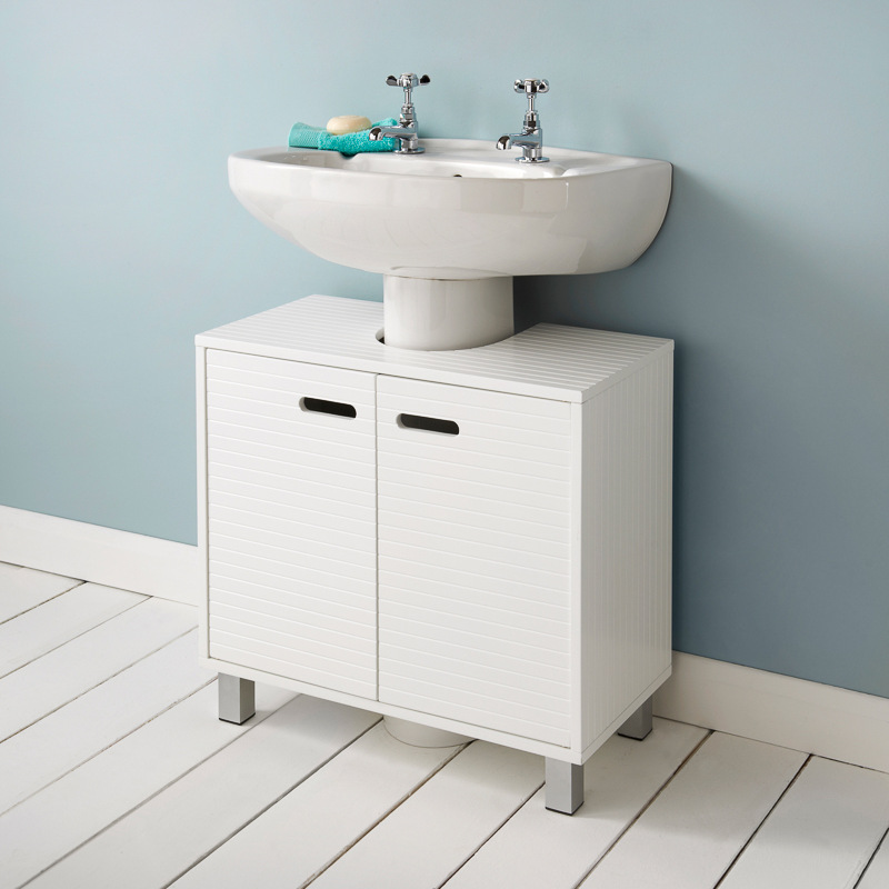 Polar undersink cabinet bathroom furniture cheap furniture - Under sink bathroom storage cabinet ...