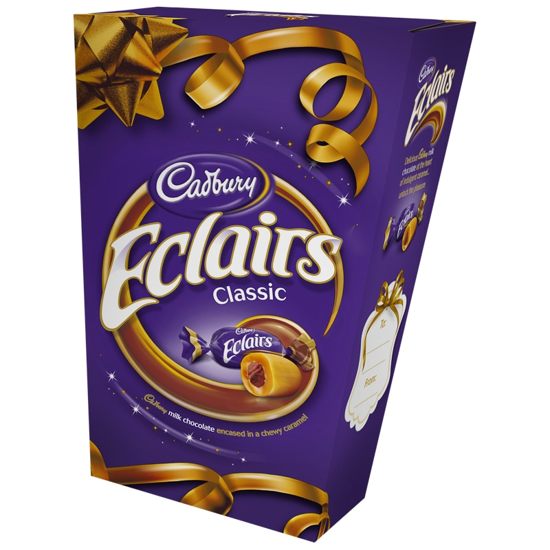 Cadbury Eclairs 420g Christmas Chocolate Boxes B Amp M