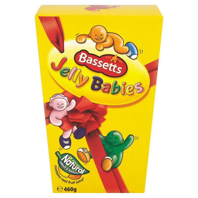 Big Bathroom Rugs Bassetts Jelly Babies - 460g - Confectionery, Sweets
