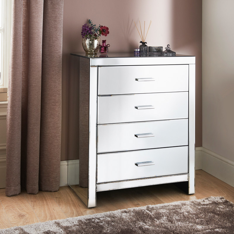 Florence 4 Drawer Chest Table Furniture Cheap Furniture