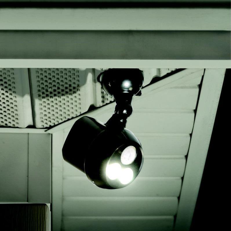 Eveready led motion sensor security light security lighting 304471 security light on house mozeypictures Gallery