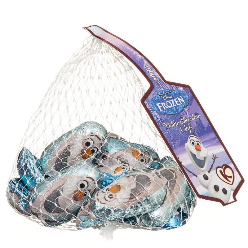 Christmas Stocking Fillers Disney Frozen White Chocolate Olafs 100g