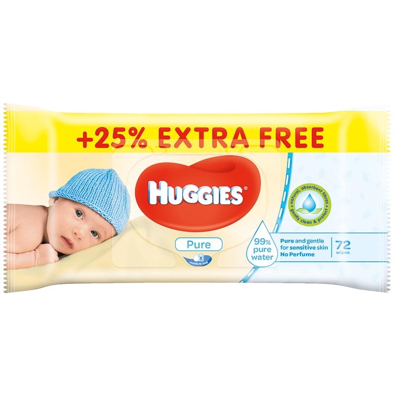 Huggies Wipes 25 Extra Free 72pk Baby Amp Toddler B Amp M