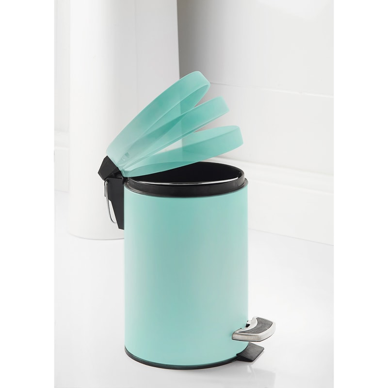 Addis Coloured Bin 3L - Aqua