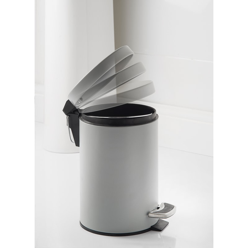 Addis Coloured Bin 3L - Grey