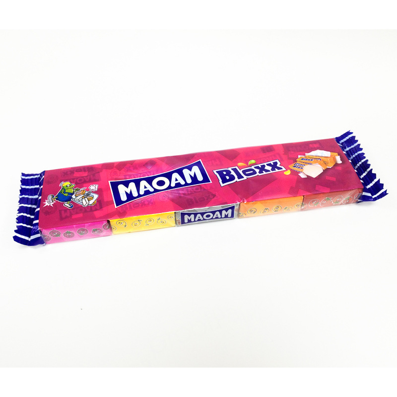 Maoam Bloxx Fruit Chews 10pk Sweets Confectionery