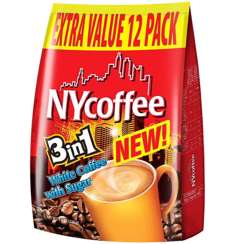 New York Coffee 3 In 1 12pk Tea Coffee Amp Hot Drinks B Amp M