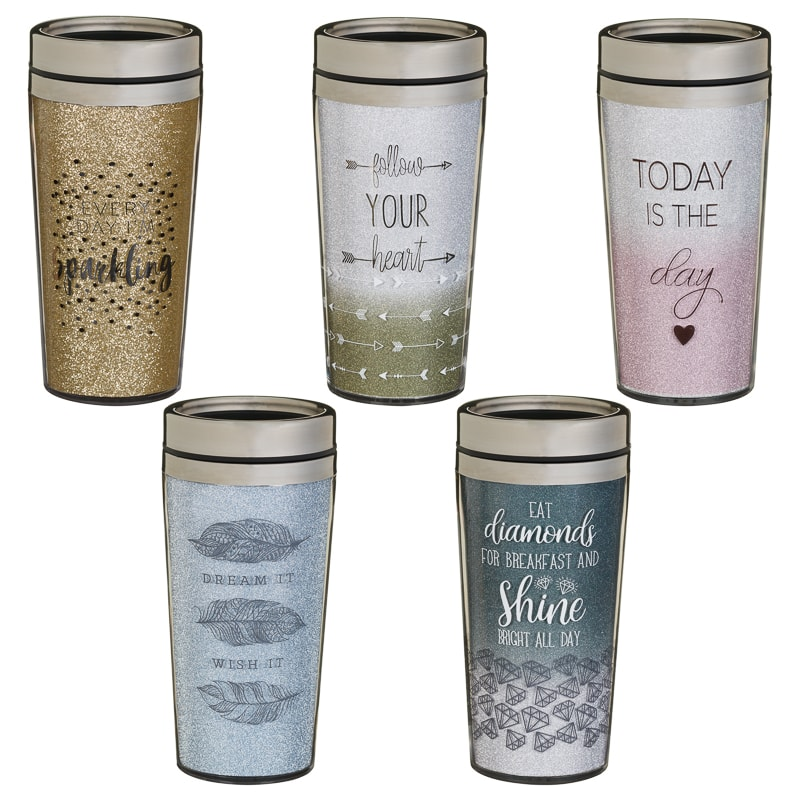 Sparkle Travel Mug Everyday I M Sparkling Kitchen B M