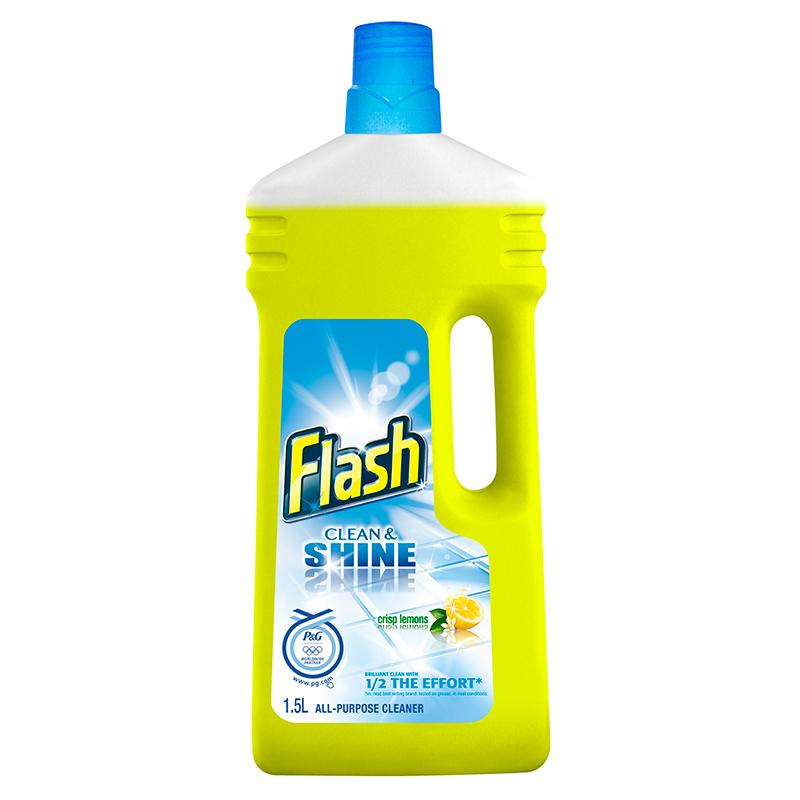 Flash Clean Amp Shine Crisp Lemons All Purpose Cleaner