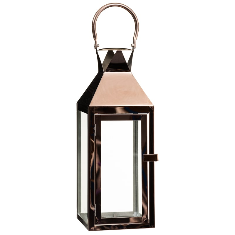 Plated Lantern Large Home Decor Decorative Accessories