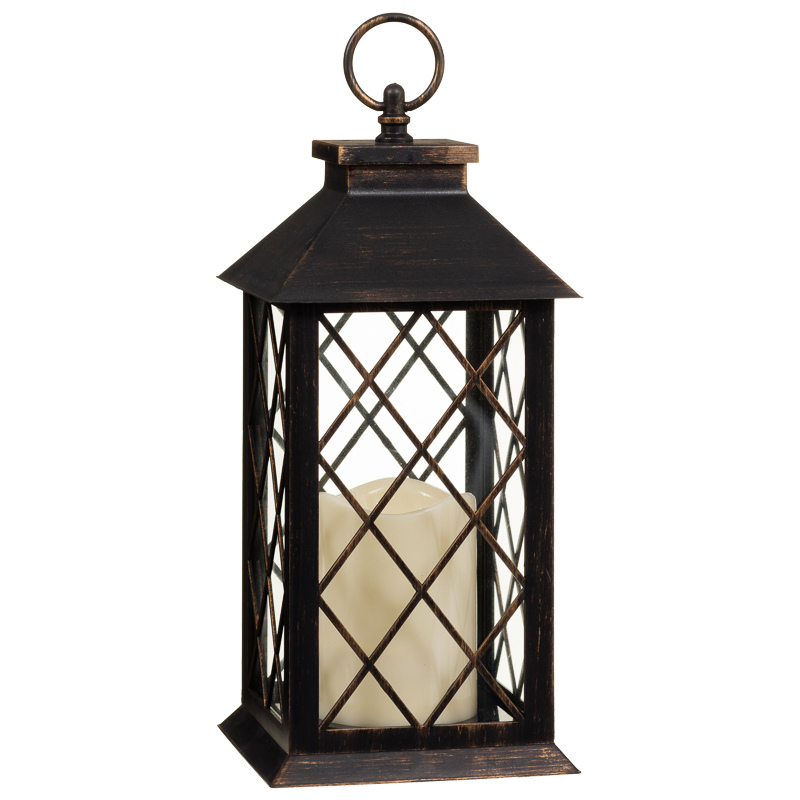 Led lantern large home decor decorative accessories for Decorative accents