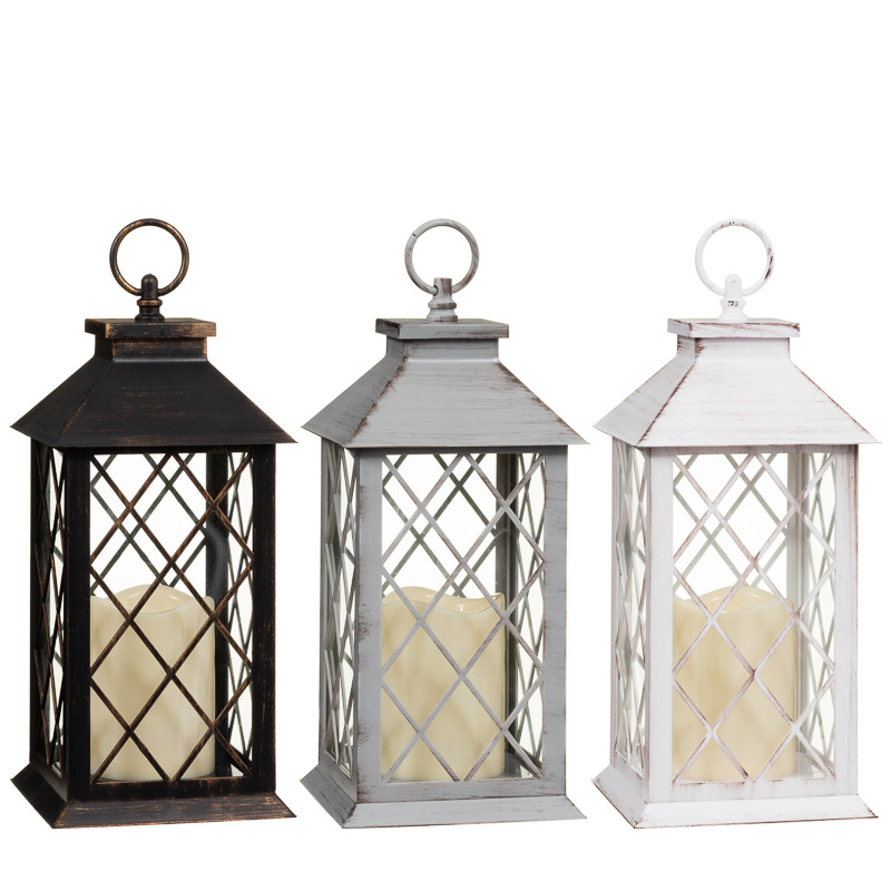 Led lantern large home decor decorative accessories for Decorative accessories for your home