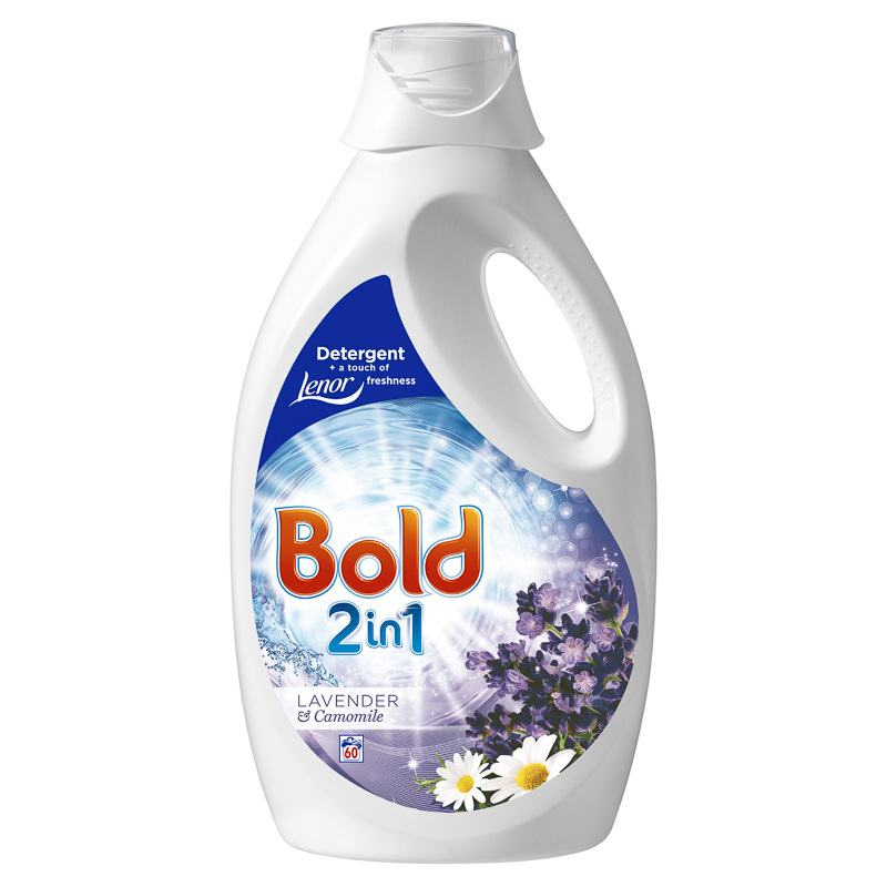 Bold 2-in-1 Detergent 3L - Lavender & Camomile | Washing ...