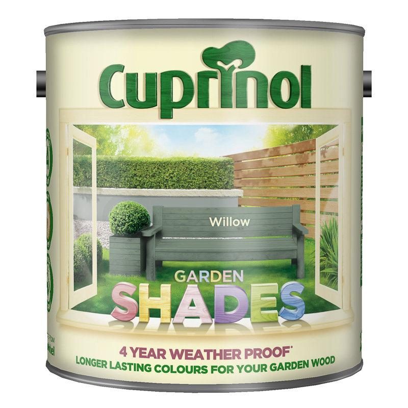Cuprinol garden shades willow 2 5l exterior paint for Garden decking homebase
