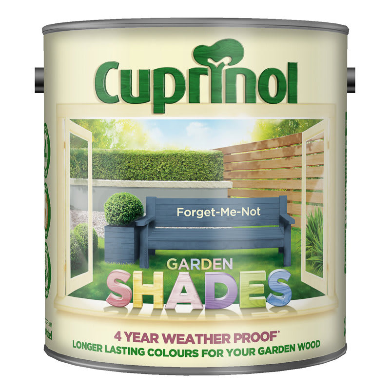 Green Family Stores >> Cuprinol Garden Shades Forget Me Not 2.5L | Exterior Paint