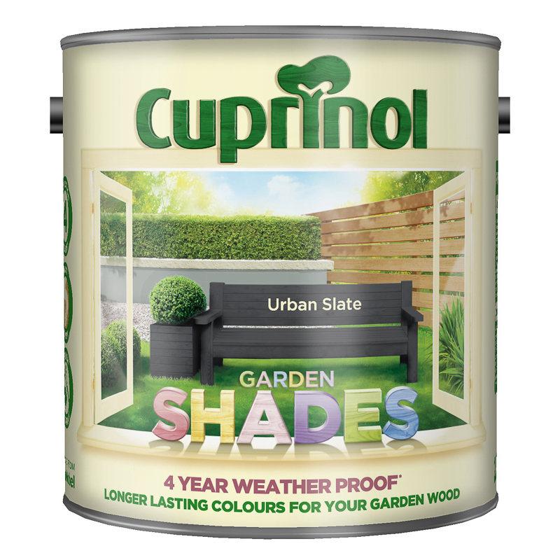 Cuprinol Garden Shades Urban Slate 2 5l Exterior Paint