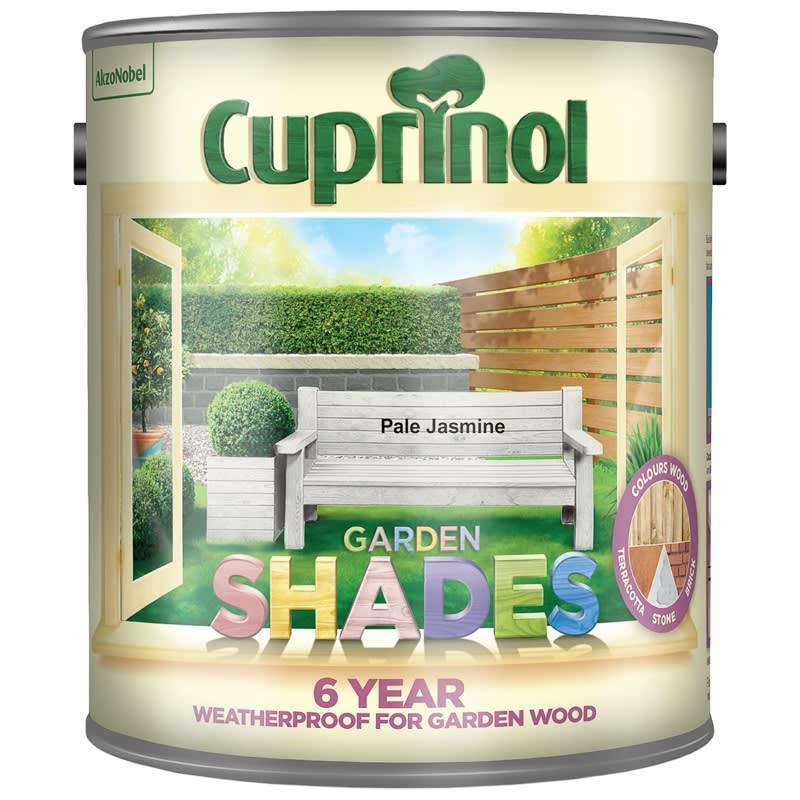 Cuprinol Garden Shades Pale Jasmine 2 5l Exterior Paint