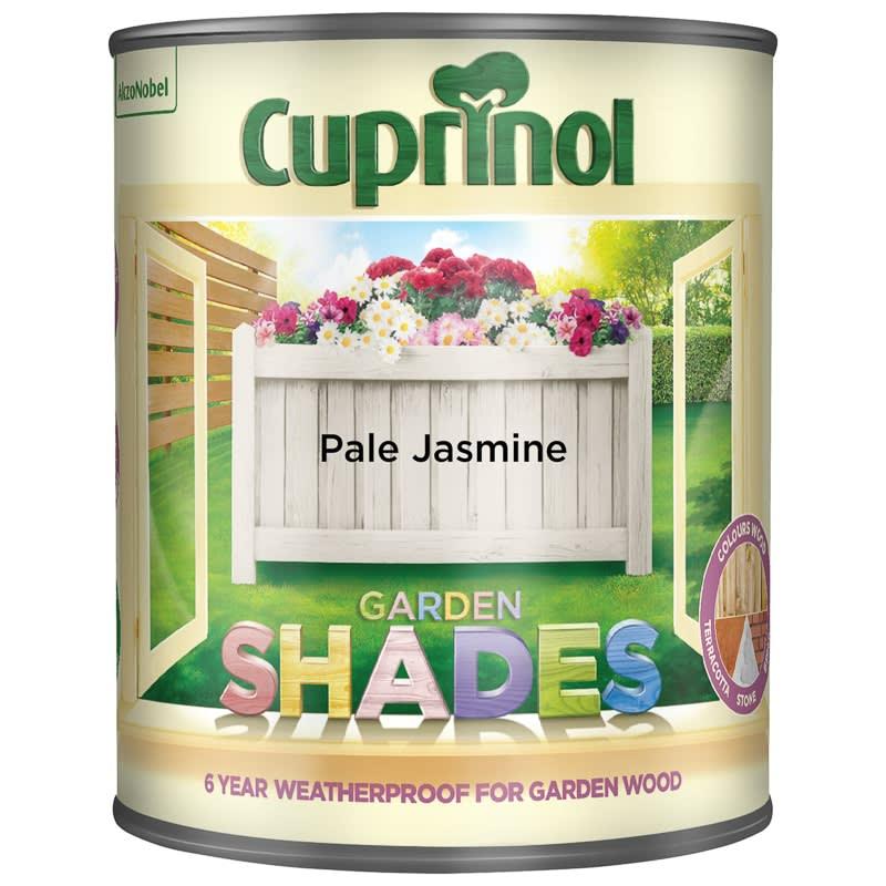 Delightful 305723 Cuprinol Garden Shades Pale Jasmine 1l Paint