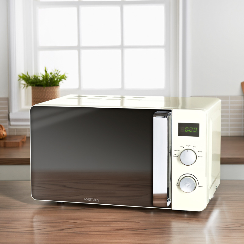 Goodmans Digital Microwave 20L  Cream  Kitchen, Small Appliances