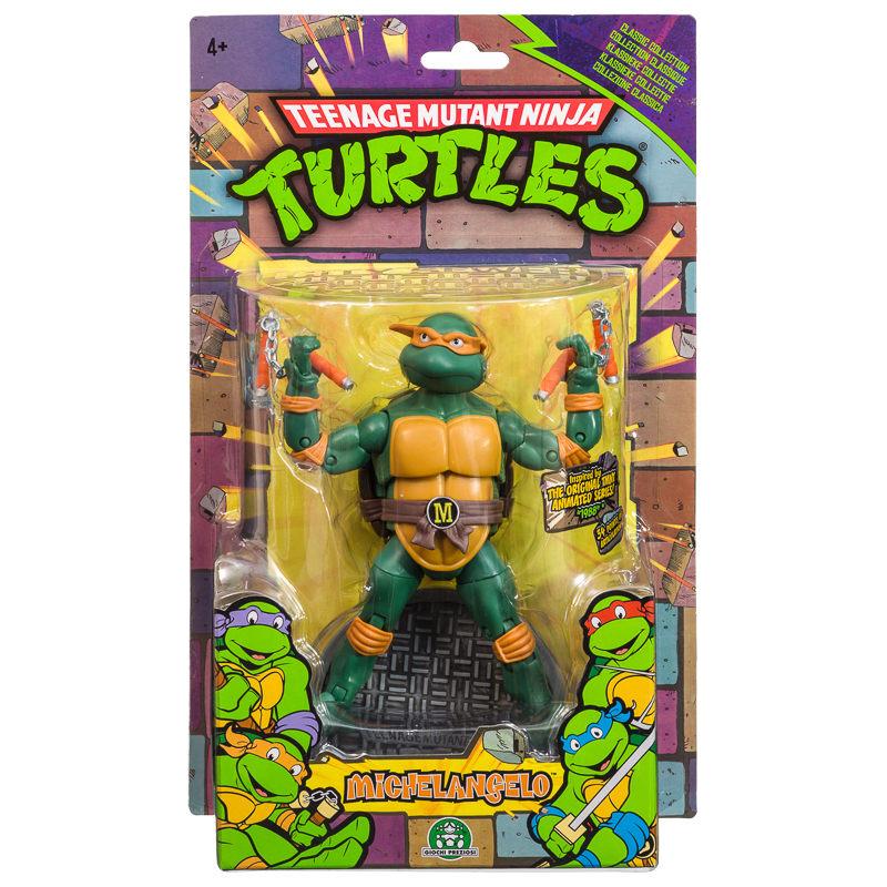 B Amp M Teenage Mutant Ninja Turtles Classic Action Figures