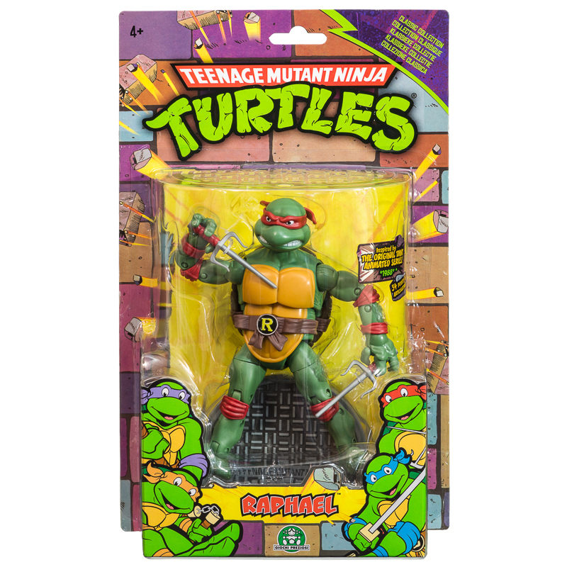 B&M Teenage Mutant Ninja Turtles Classic Action Figures ...