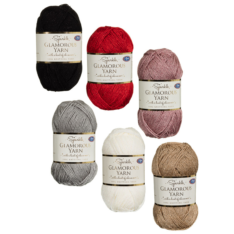 Glamorous Yarn 150g Knitting Crochet Accessories Bm
