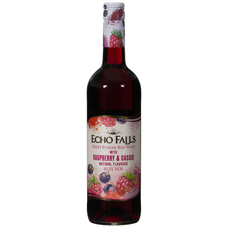 Echo Falls Fruit Fusion Red Wine With Raspberry Amp Cassis
