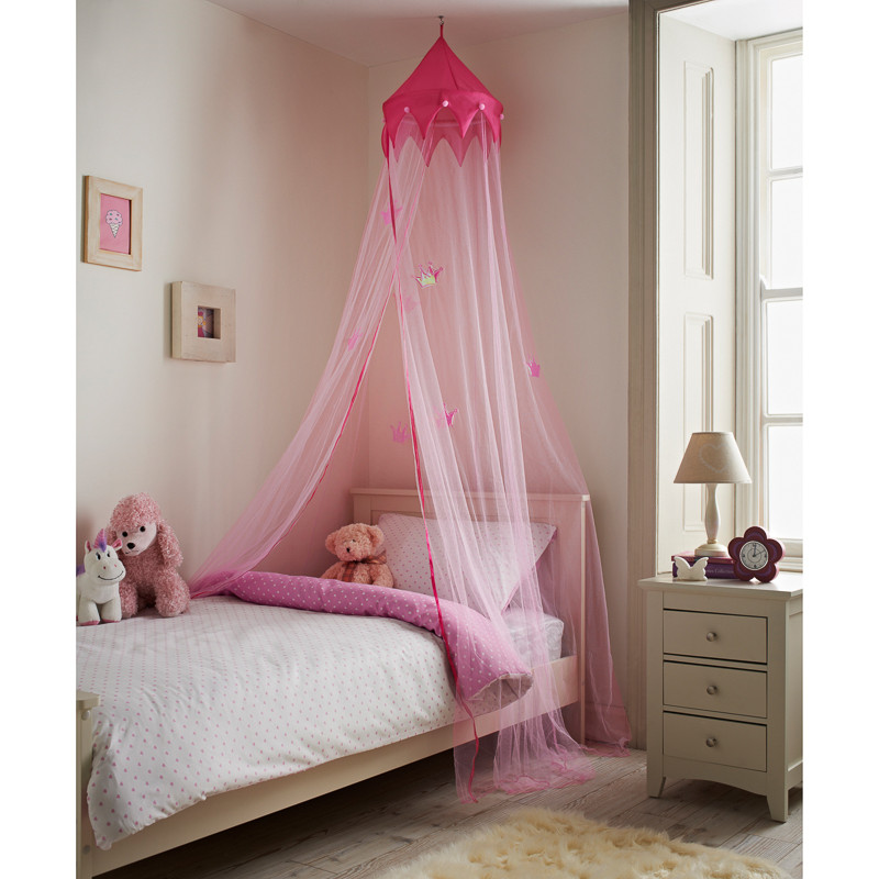 305960-Princess-Bed-Canopy  sc 1 st  Bu0026M & Princess Bed Canopy | Bedroom Furniture Childrenu0027s Furniture
