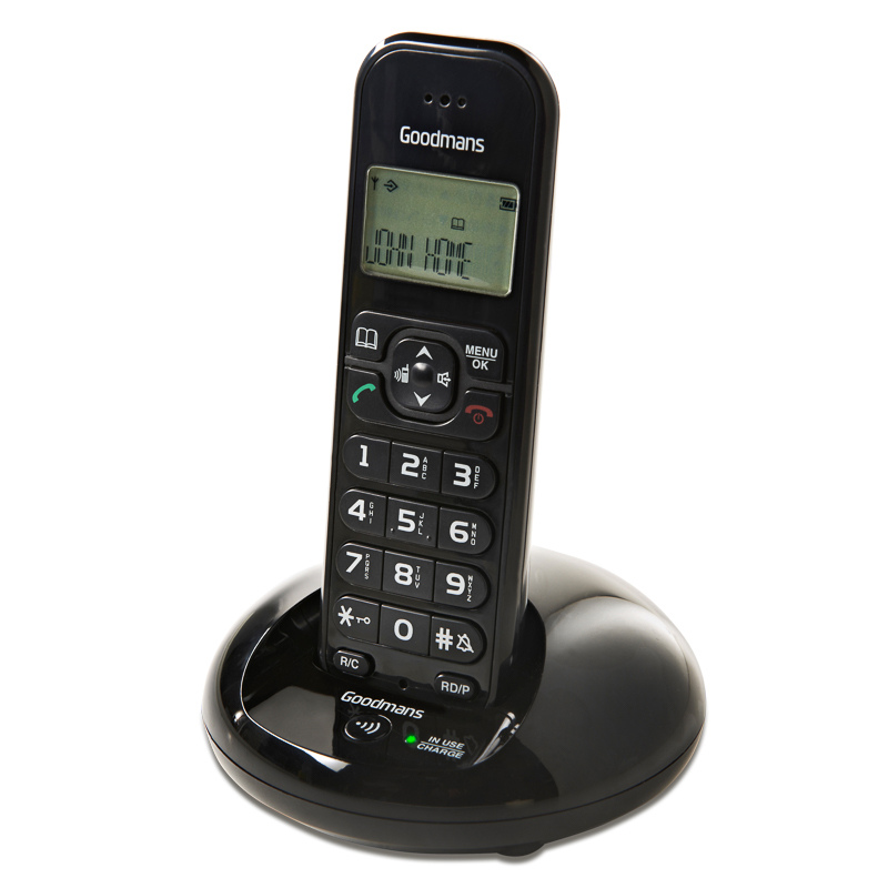 Goodmans Cordless Twin Dect Phone Cordless Telephones