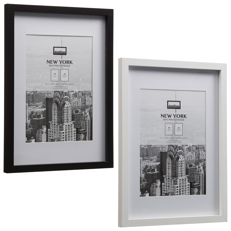 New York Photo Frame A4 | Home Decor, Photo Frames - B&M