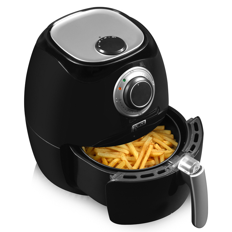 Home Electrical Food Preparation Tower Health Air Fryer 3.2L