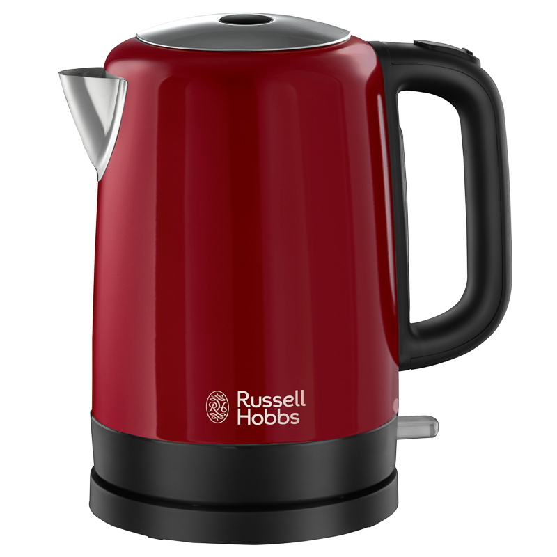 russell hobbs canterbury kettle red kitchen electricals. Black Bedroom Furniture Sets. Home Design Ideas