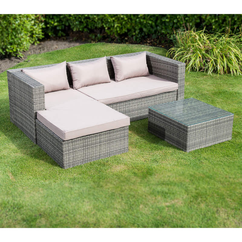 Westbury Gardens Winter: Westbury Luxury Corner Rattan Set