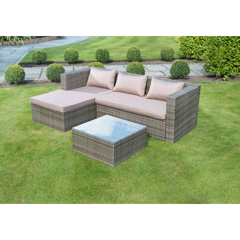 Westbury Luxury Corner Rattan Set Garden Furniture