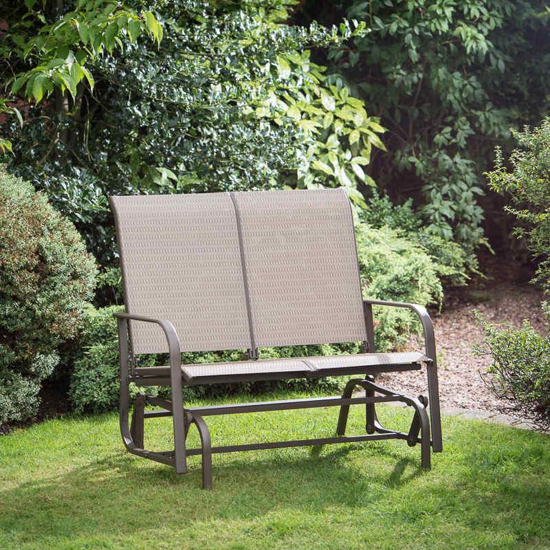 B Amp M Copenhagen Glider Bench Garden Furniture