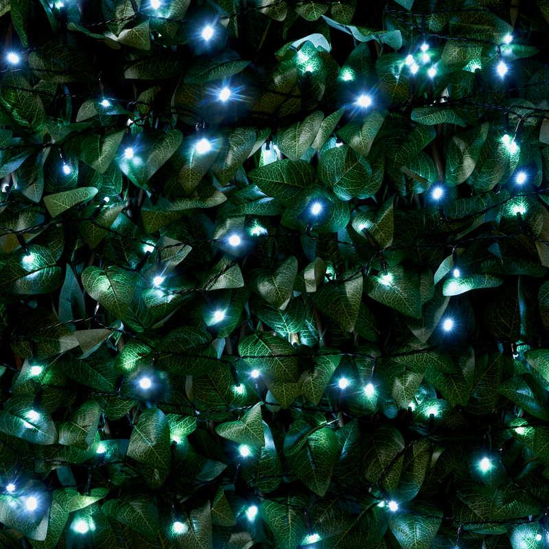 Eveready Led String Lights 240pk White Solar Lighting