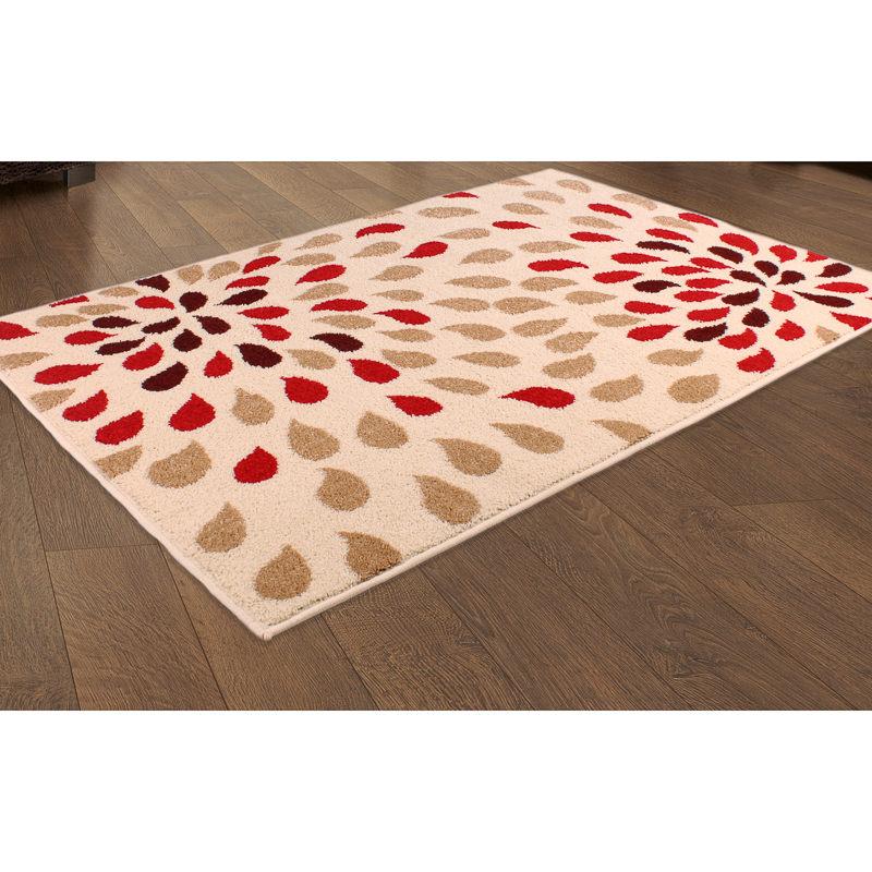 b m teardrop design rug 110 x 160cm patterned rug. Black Bedroom Furniture Sets. Home Design Ideas