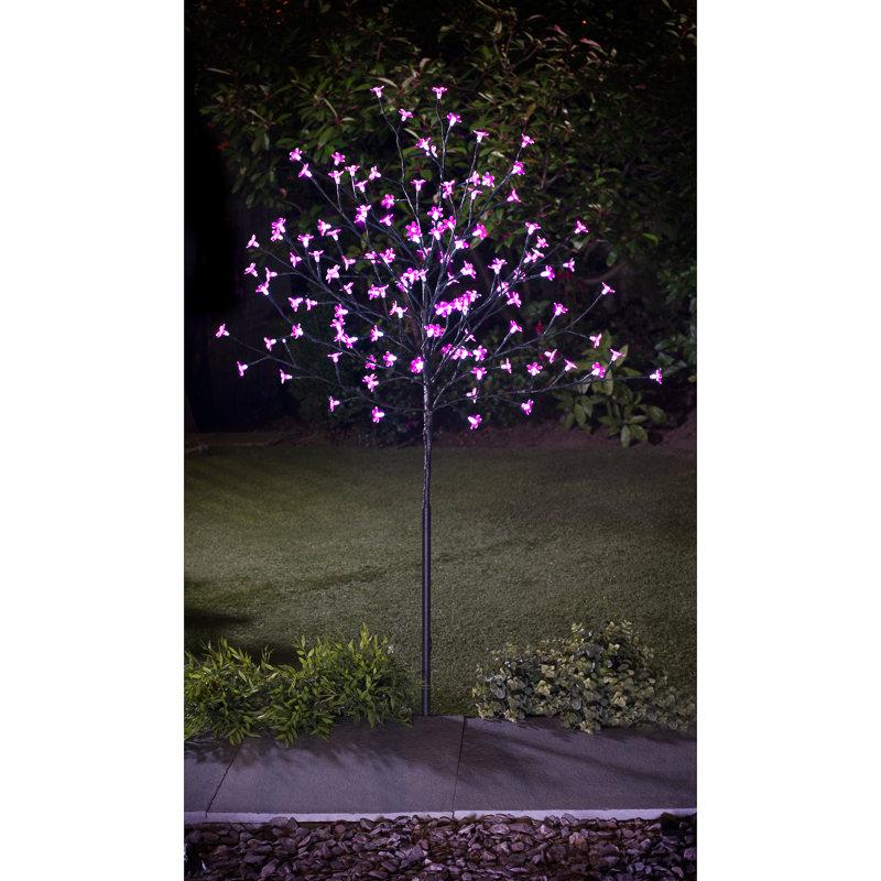 B Amp M Led Solar Blossom Tree 4ft 318737 B Amp M