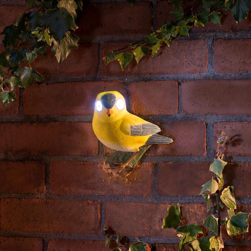 Solar Powered Garden Bird Solar Lighting B Amp M