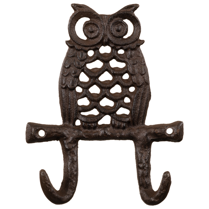 http://www.bmstores.co.uk/images/hpcProductImage/imgFull/307025-Cast-Iron-Double-Wall-Hook-owl1.jpg