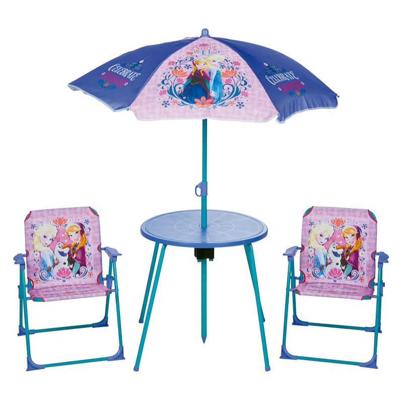 b m disney frozen kids patio set children 39 s garden. Black Bedroom Furniture Sets. Home Design Ideas