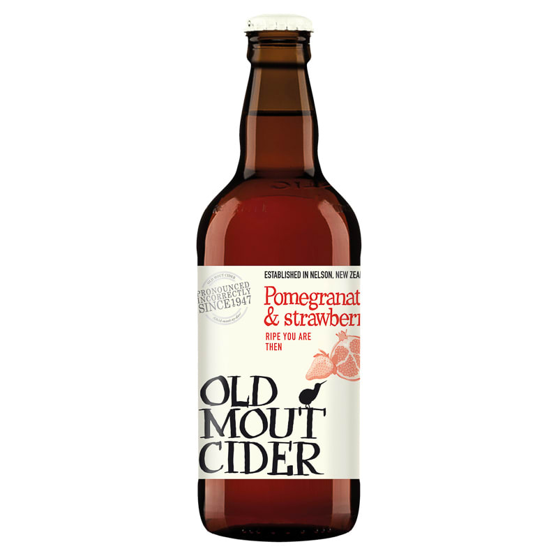 Old Mout Cider Pomegranate Amp Strawberry 500ml Alcohol