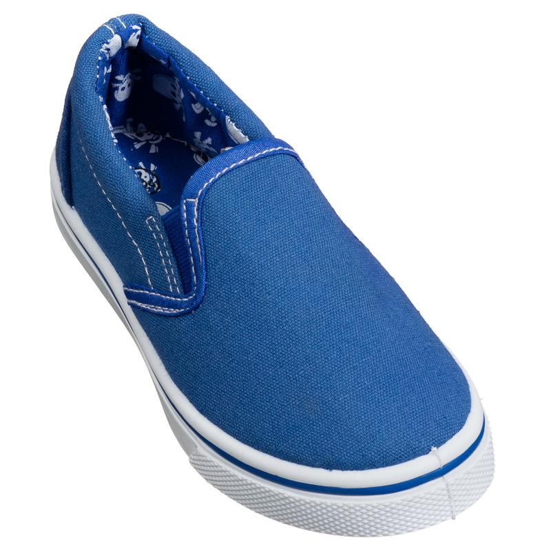 slip on canvas shoes blue footwear