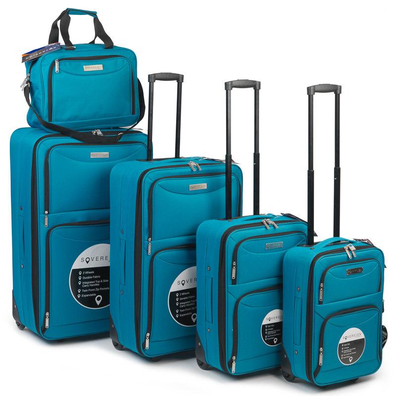 sovereign cabin bag 30cm teal luggage travel accessories. Black Bedroom Furniture Sets. Home Design Ideas