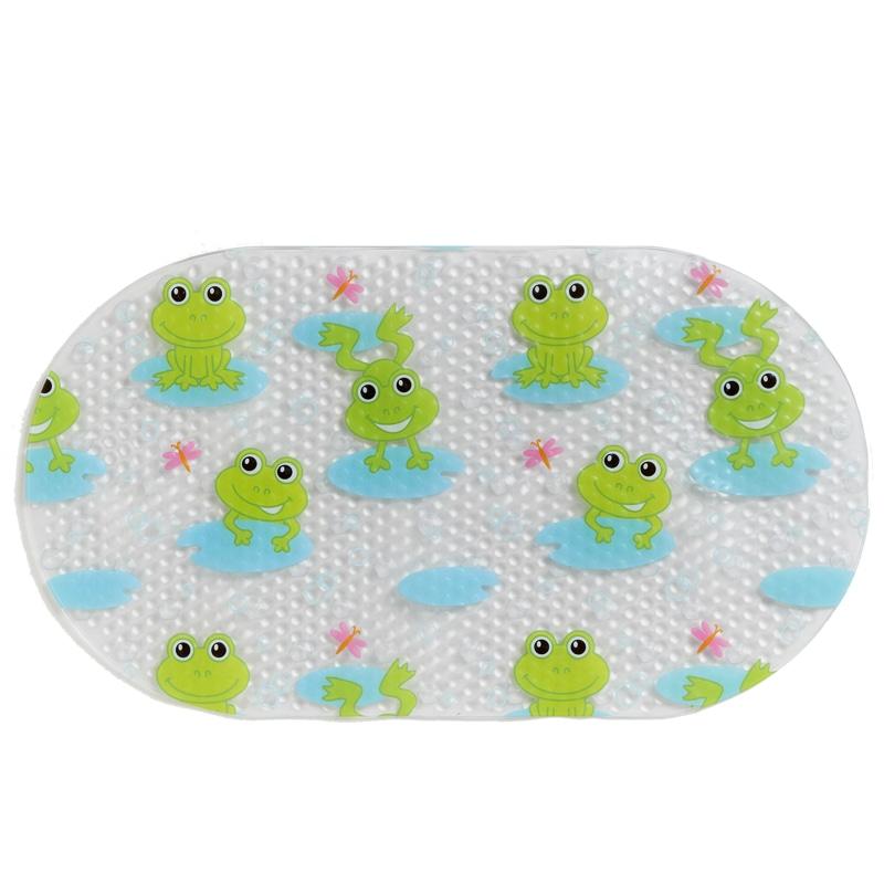 Character Printed Bath Mat Frog Bathroom Accessories B Amp M
