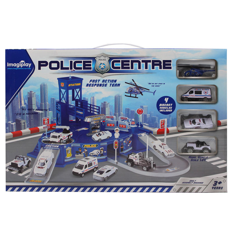 Police Centre Play Set Toys Police Play Sets