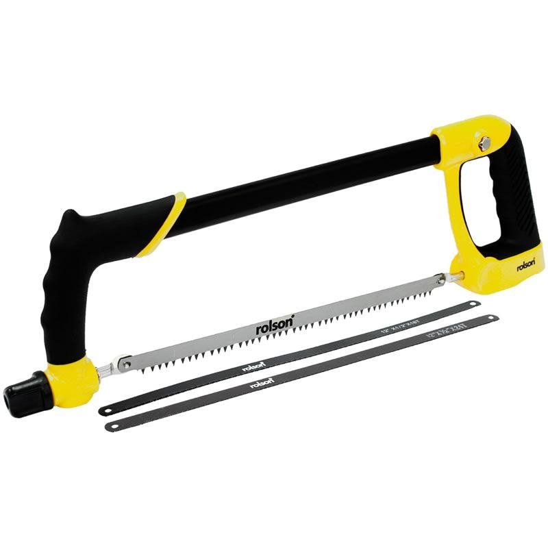 Rolson Heavy Duty Hacksaw   Hand Tools   B&M